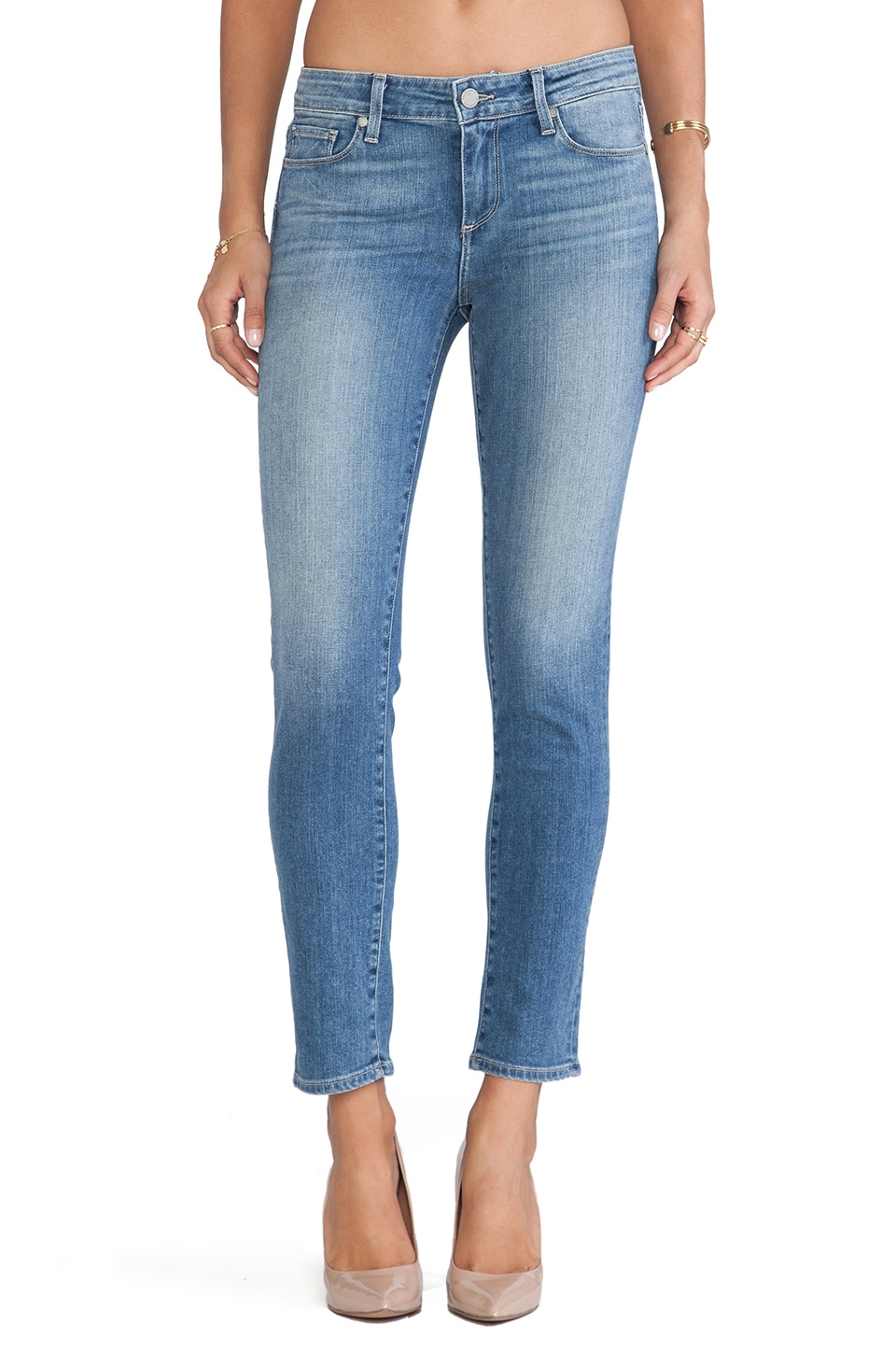 Paige Denim Skyline Ankle Peg in Nico