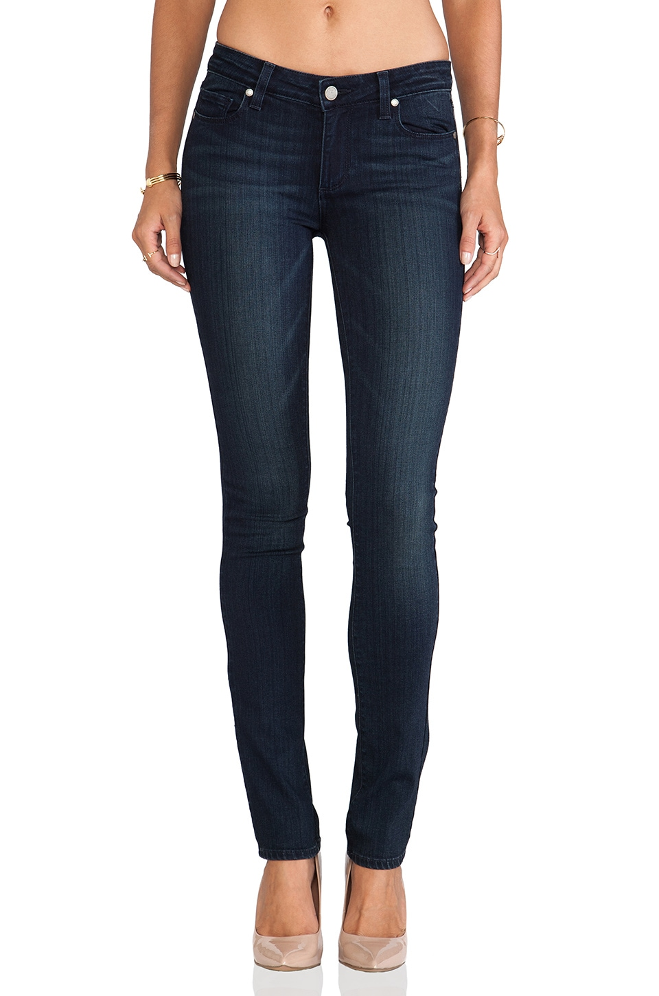 Paige Denim Skyline Straight in Midlake