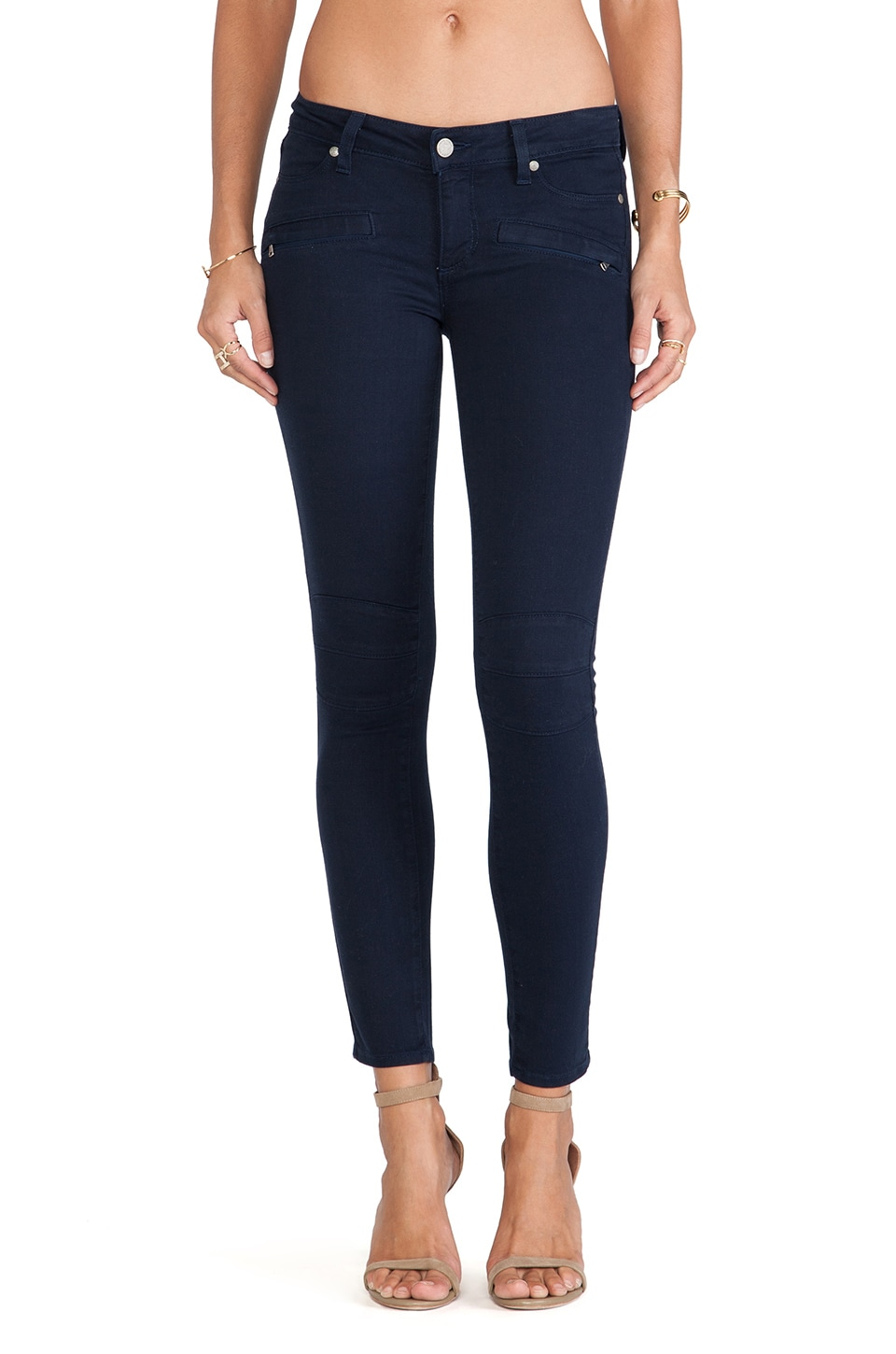 PAIGE Denim Ollie Skinny in Midnight Navy