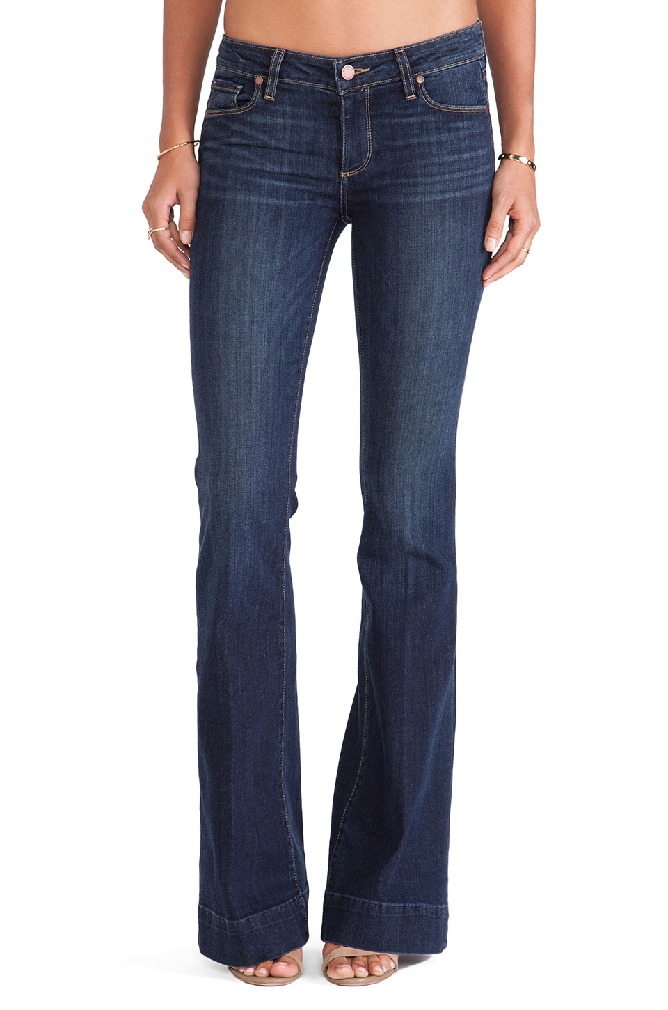 Paige Denim Fiona Flare in Verona