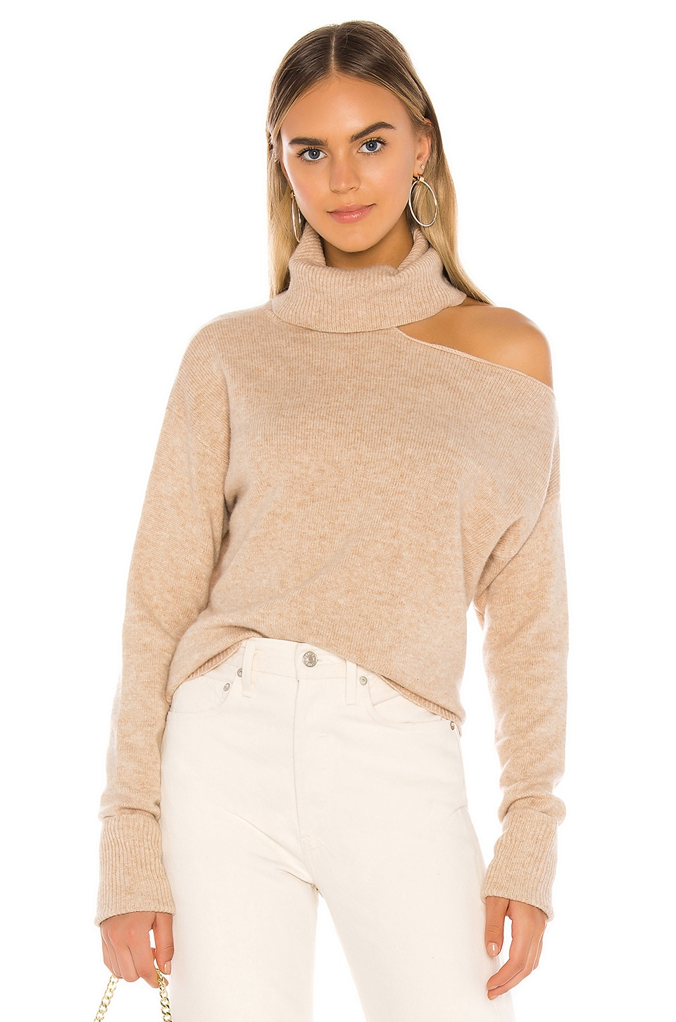 PAIGE Raundi Sweater in Camel