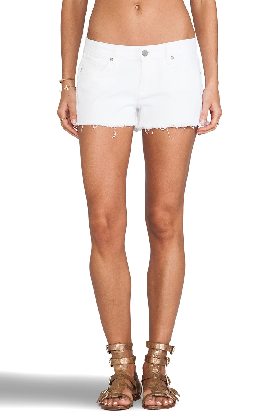 PAIGE Catalina Short in Optic White