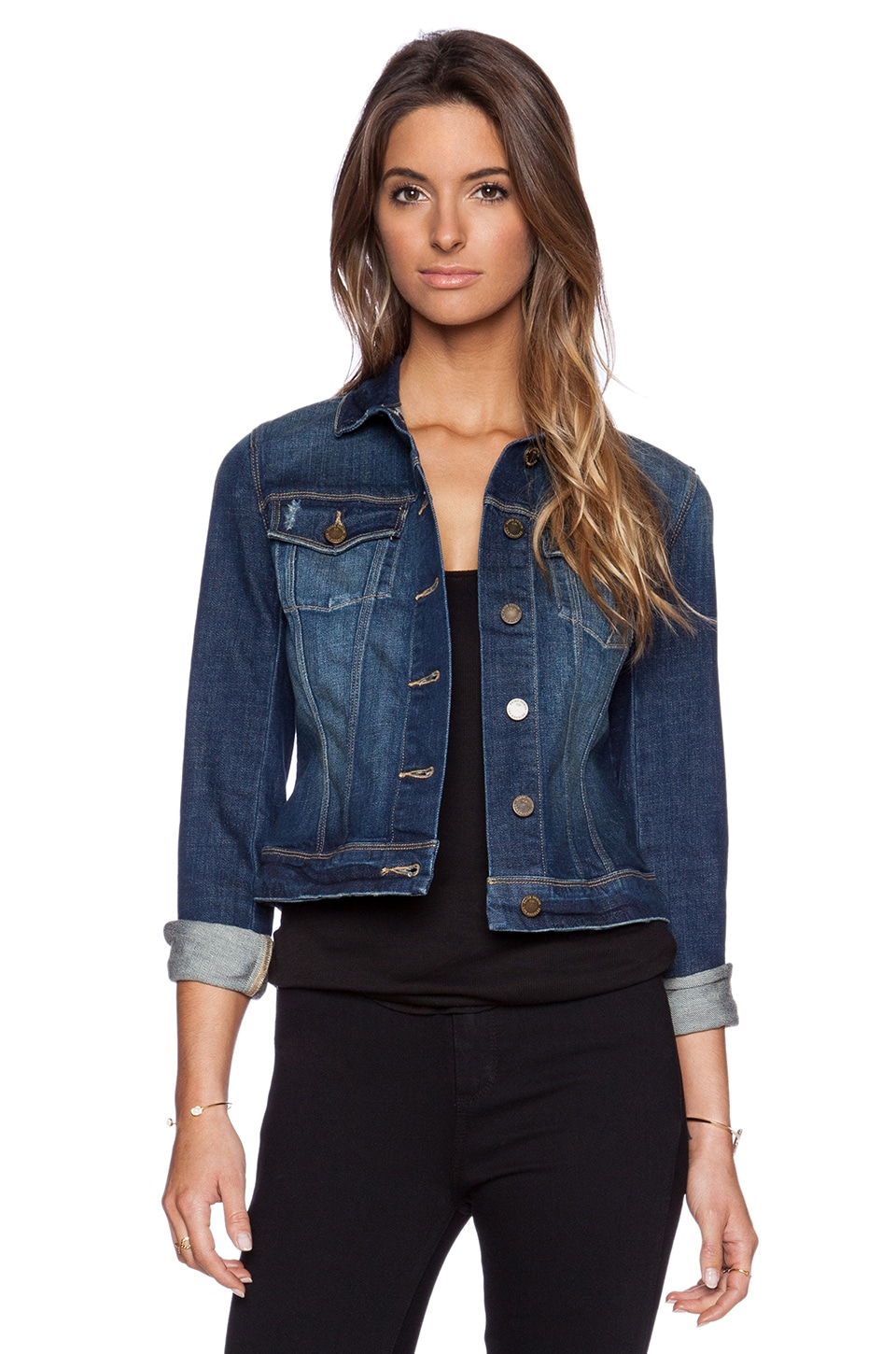 Paige Denim Vermont Jacket in Havana