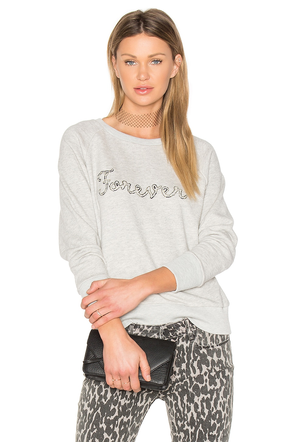 Rosie HW x PAIGE Forever Sweatshirt by Paige