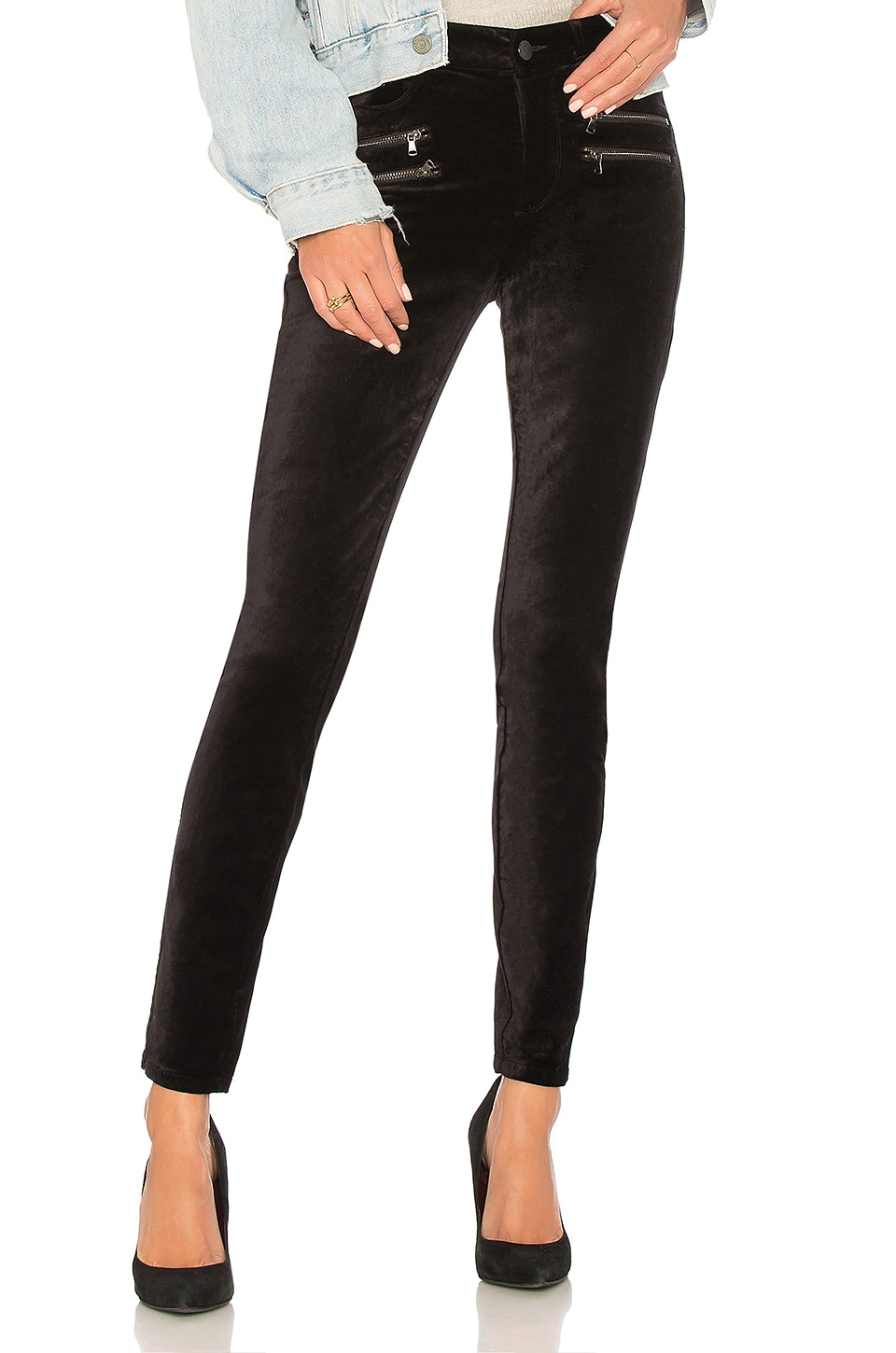 Pantalon En Velours High Rise Edgemont