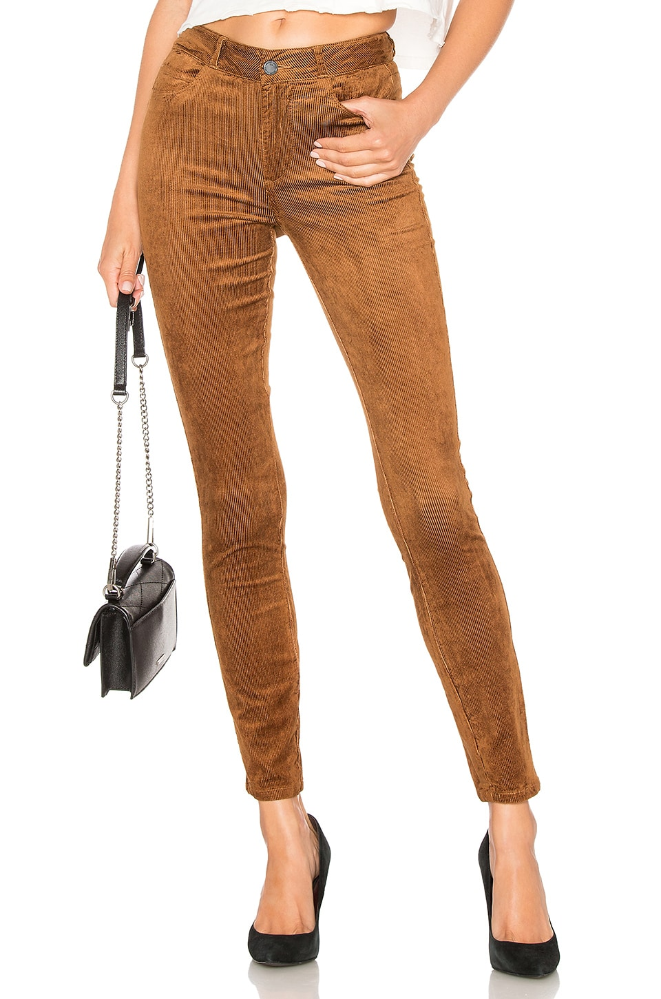 PAIGE HOXTON ULTRA SKINNY CORDUROY