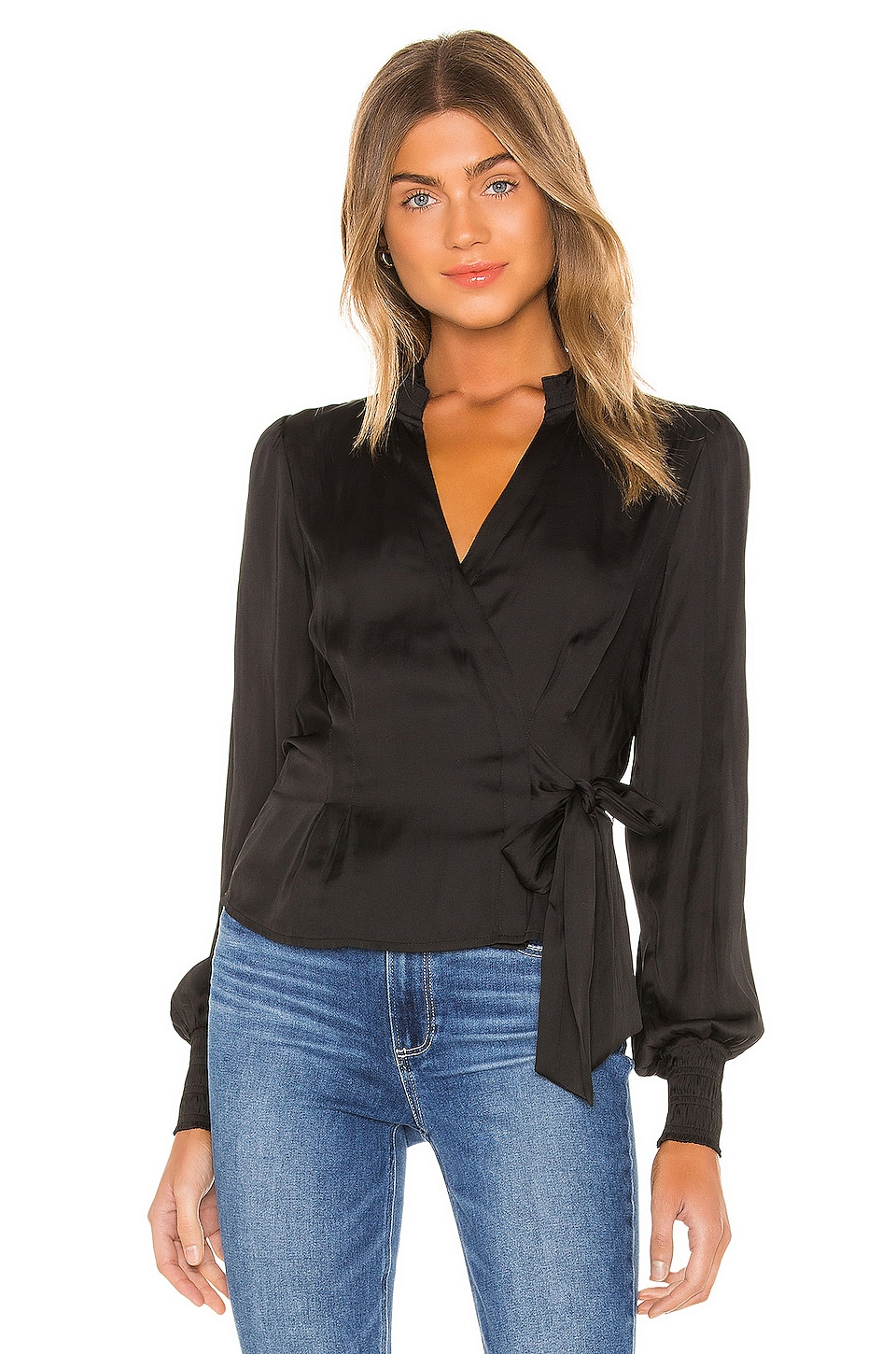 PAIGE Selby Top in Black