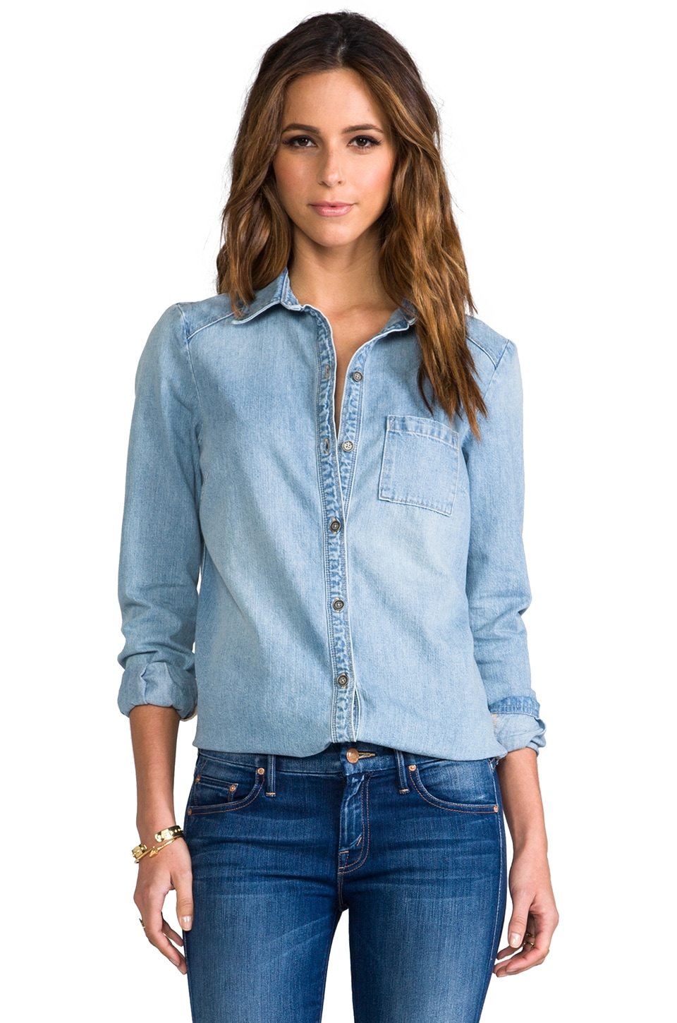 Paige Denim Eden Shirt in Jaqueline