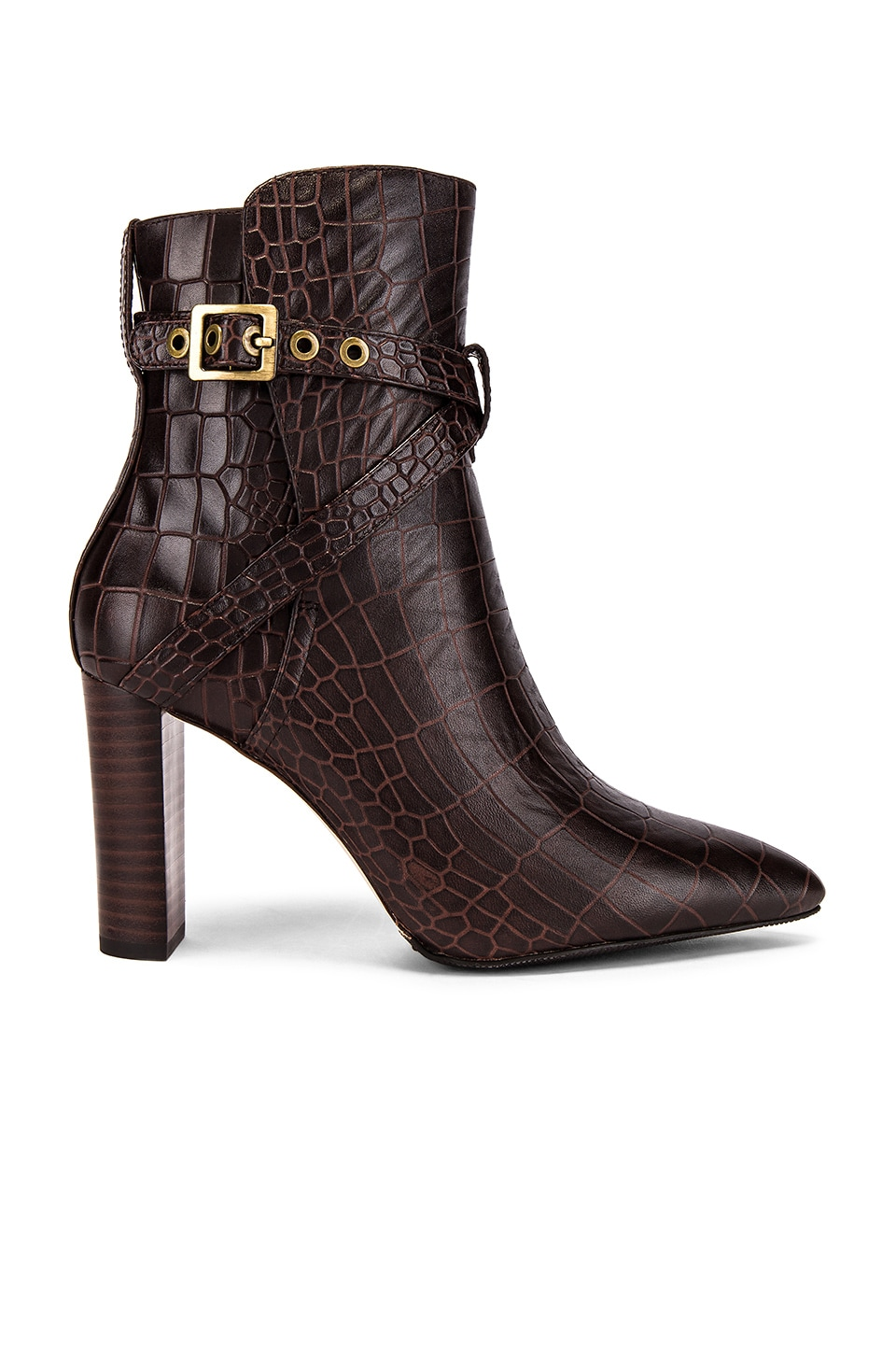 PAIGE Camille Bootie in Brown