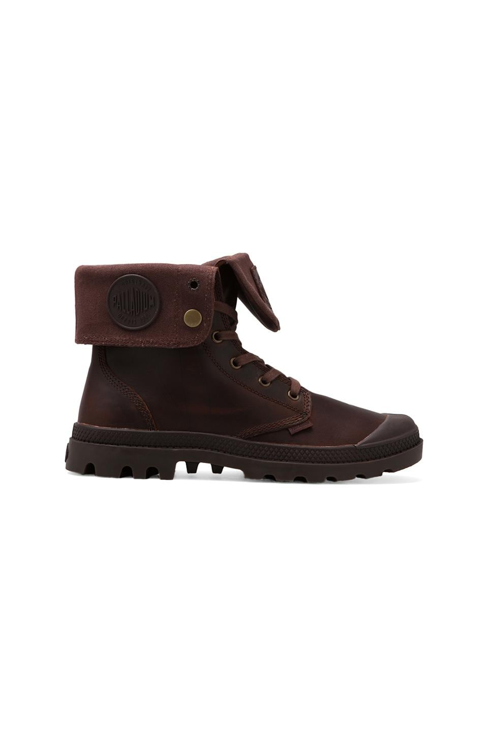 Palladium Palladium Pallabrouse Baggy Leather in Russet/Dark Gum