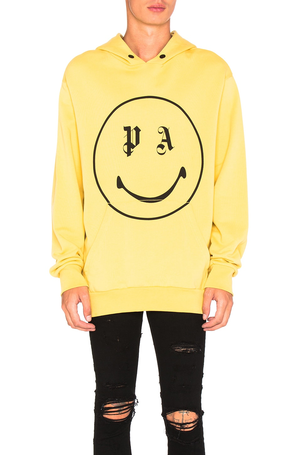 Photo of PA Smiling Hoody by Palm Angels men clothes