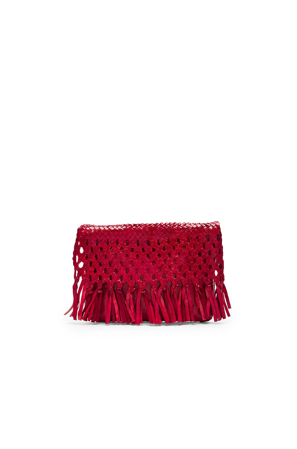 Pamela V. Junin Clutch in Red