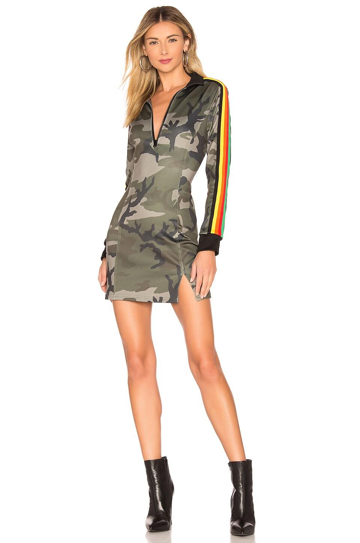 Pam & Gela Camo Track Dress