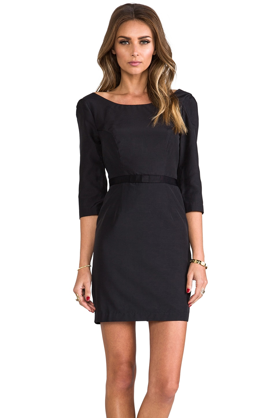 Paper Crown by Lauren Conrad Greta Dress in Black