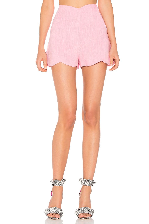 Paper London Fraise Shorts in Pink & White Melange