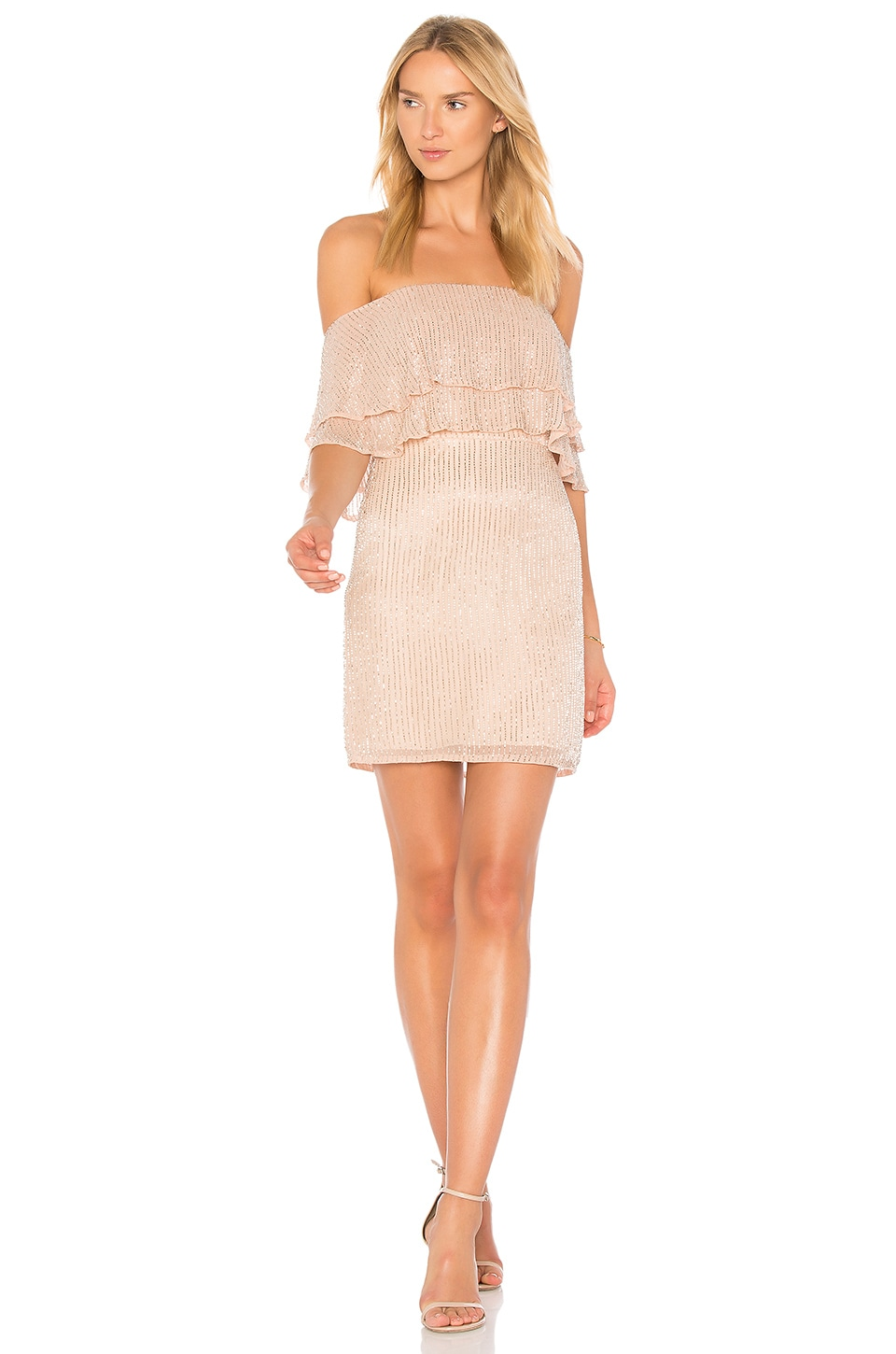 Parker Black Keira Dress in Blush | REVOLVE