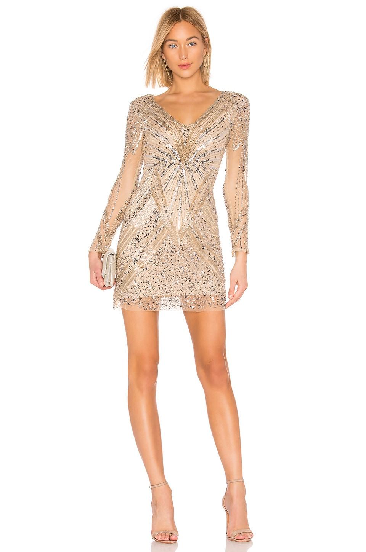 Parker Black Janette Dress in Champagne
