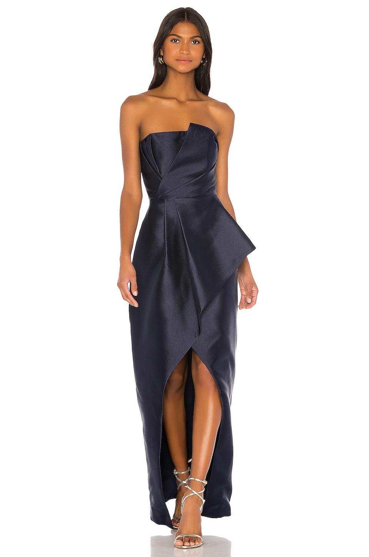 Parker Black Whitney Dress in Aquarius