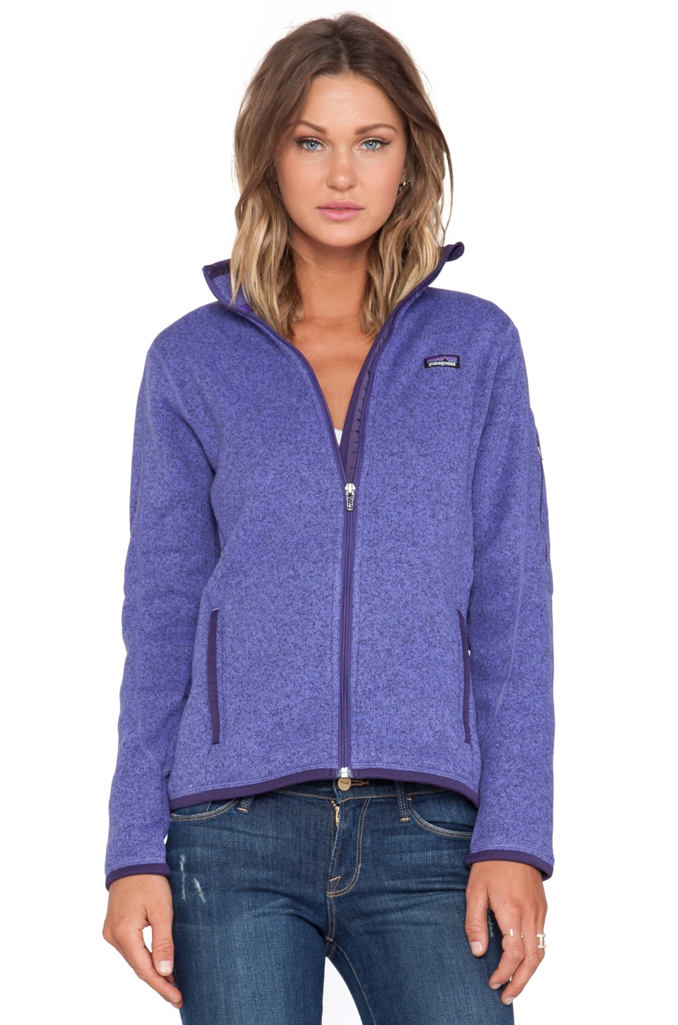 Patagonia Better Sweater Jacket in Violetti