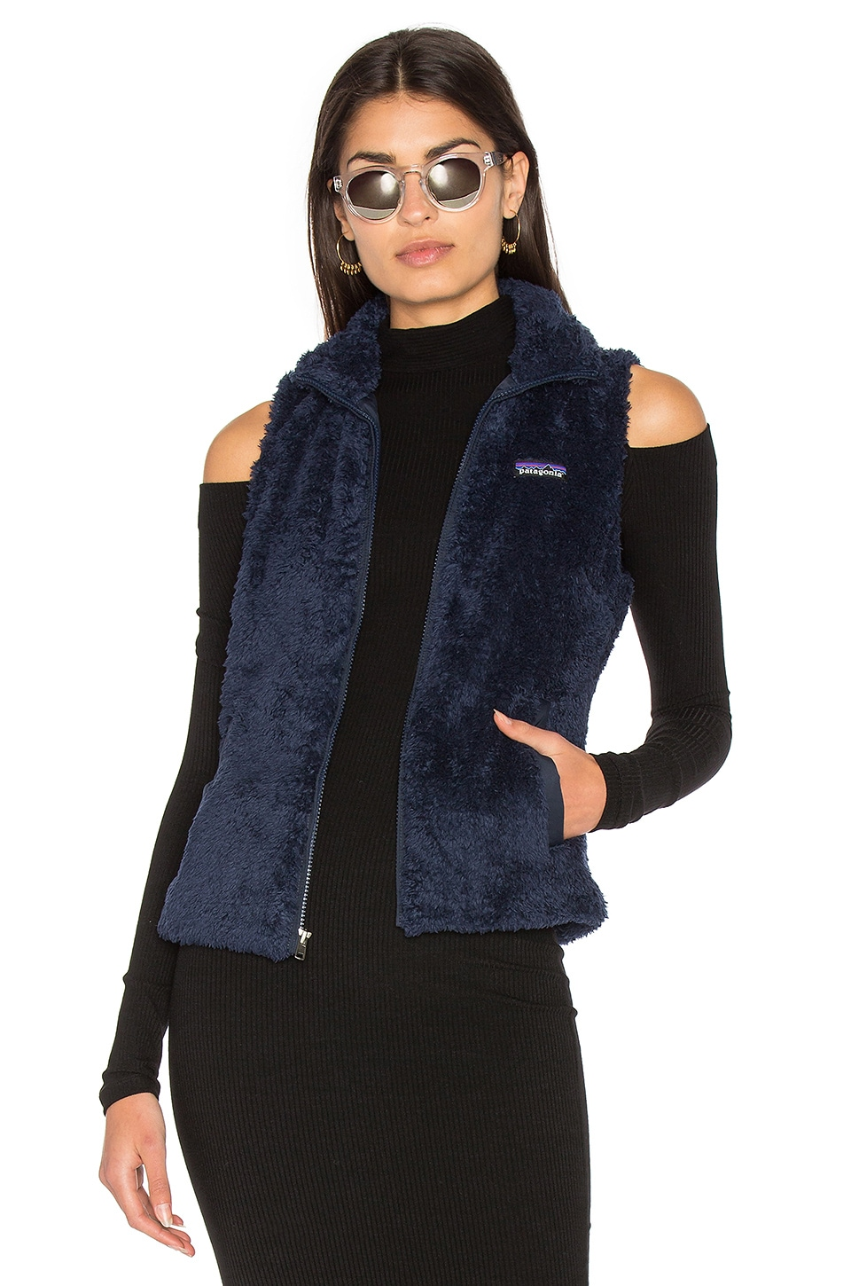 Patagonia Los Gatos Vest in Navy Blue