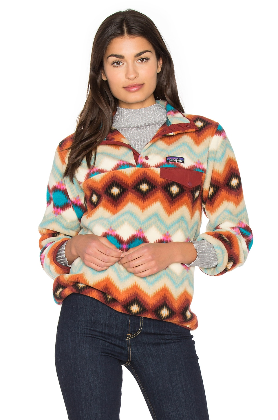 new style 8ef7f 0cba9 Patagonia Lightweight Synchilla Snap-T Pullover from Revolve.com