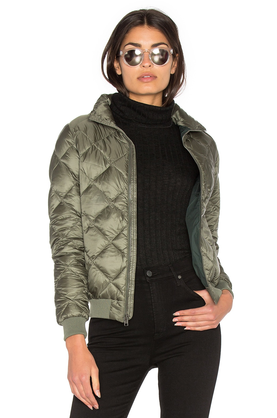 9aa98171d Patagonia Prow Bomber Jacket in Industrial Green | REVOLVE
