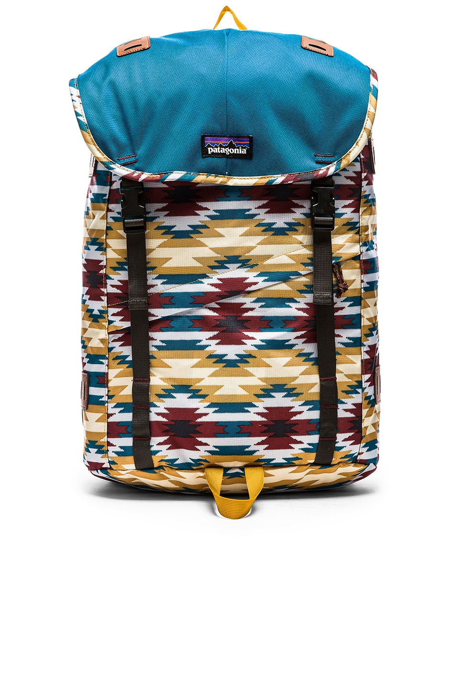Patagonia Arbor 26L Backpack in Prairie Gold Wild Desert