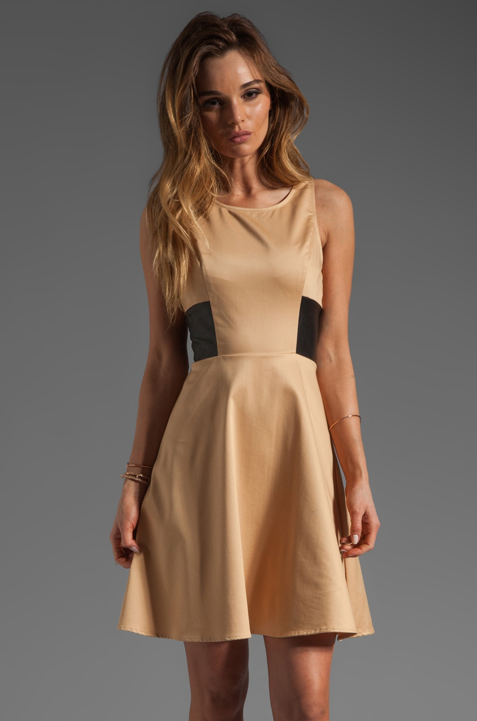 PJK Patterson J. Kincaid Patterson J. Kincaid Trixton Dress in Nude