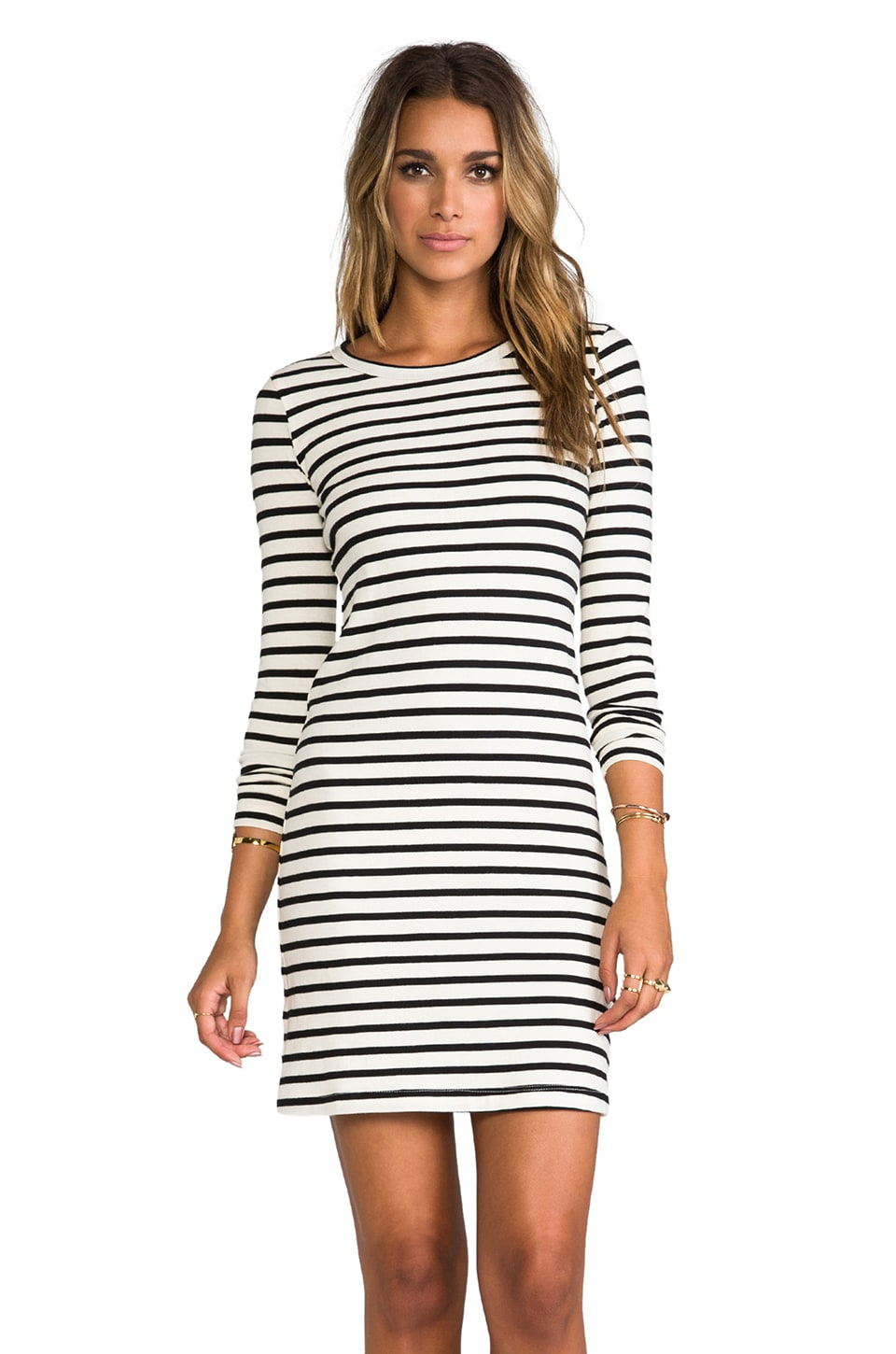 PJK Patterson J. Kincaid Chestnut Dress in Black/White