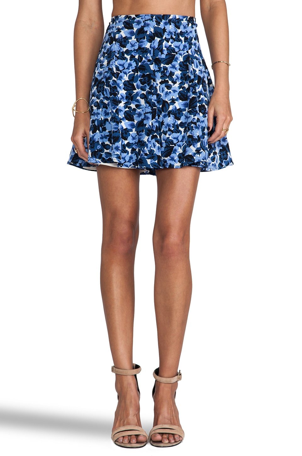 PJK Patterson J. Kincaid Nola Skirt in Eclipse Multi