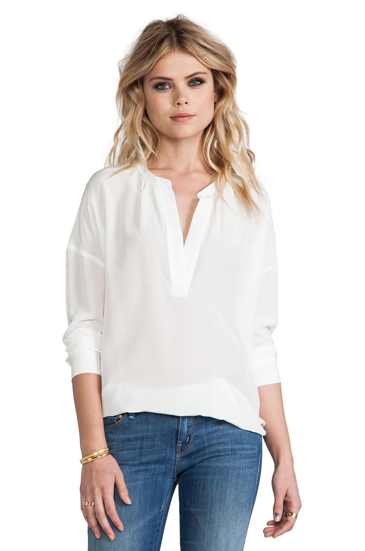 PJK Patterson J. Kincaid Lounge Shirt in Antique White