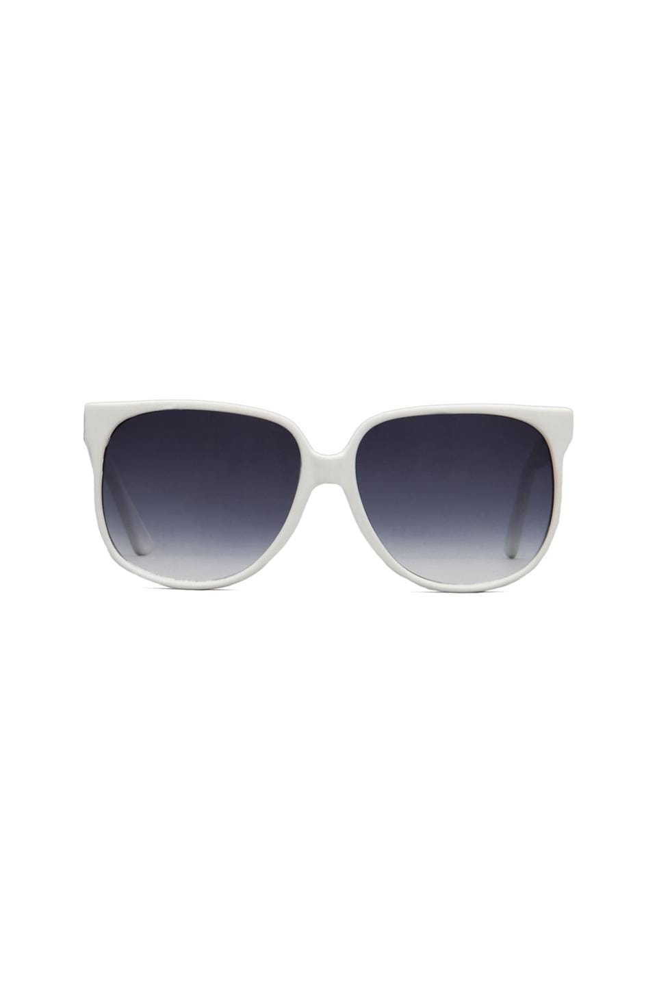 Peekabooda Vintage School Boy Shades in White