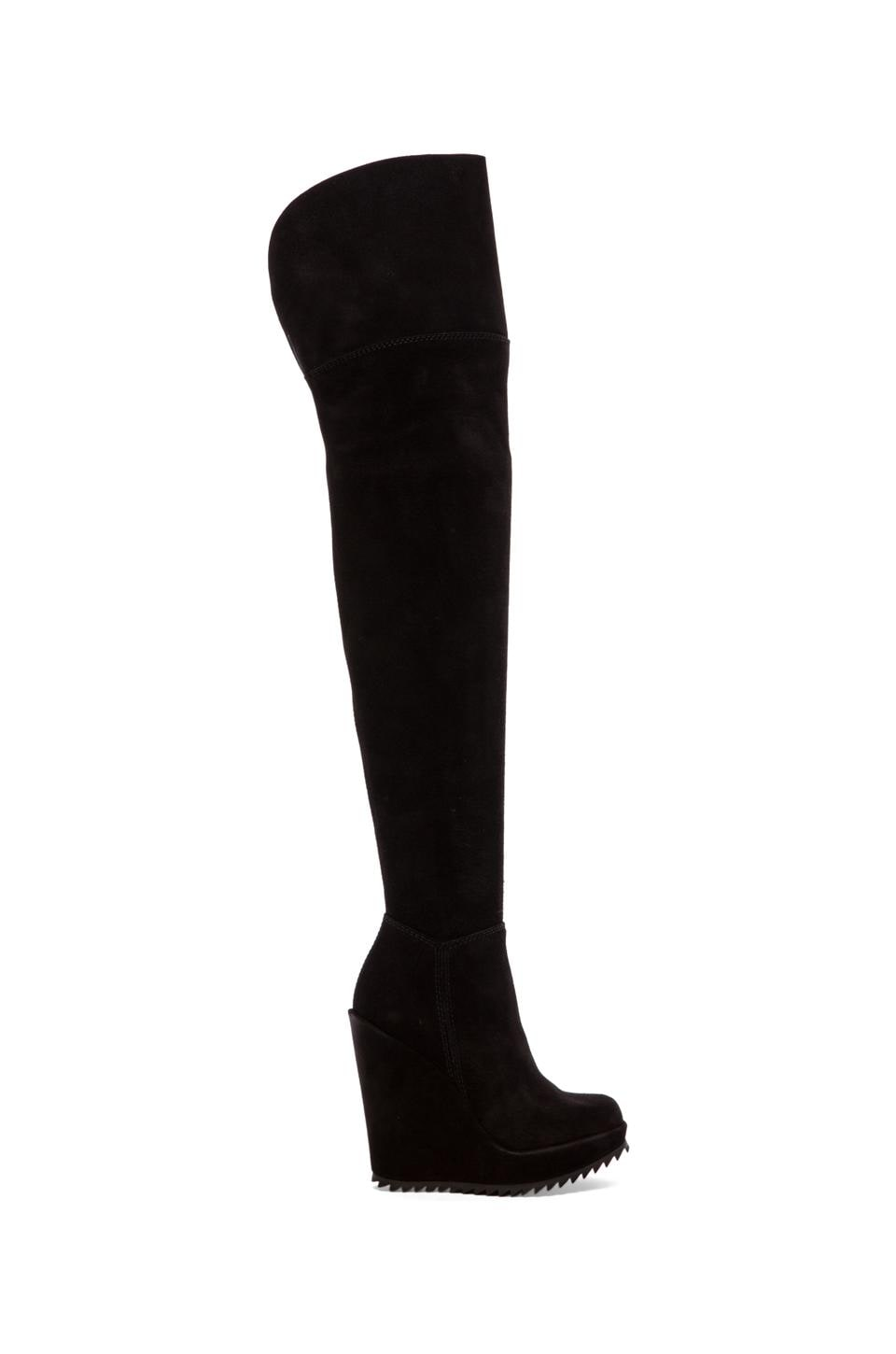 Pedro Garcia Vanne Castra Wedge Boot in Black