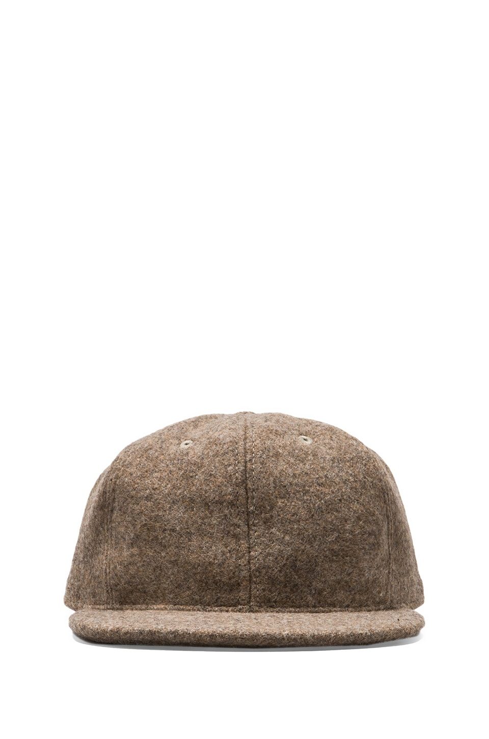 The Portland Collection by Pendleton Prineville Cap in Taupe/Goldmine