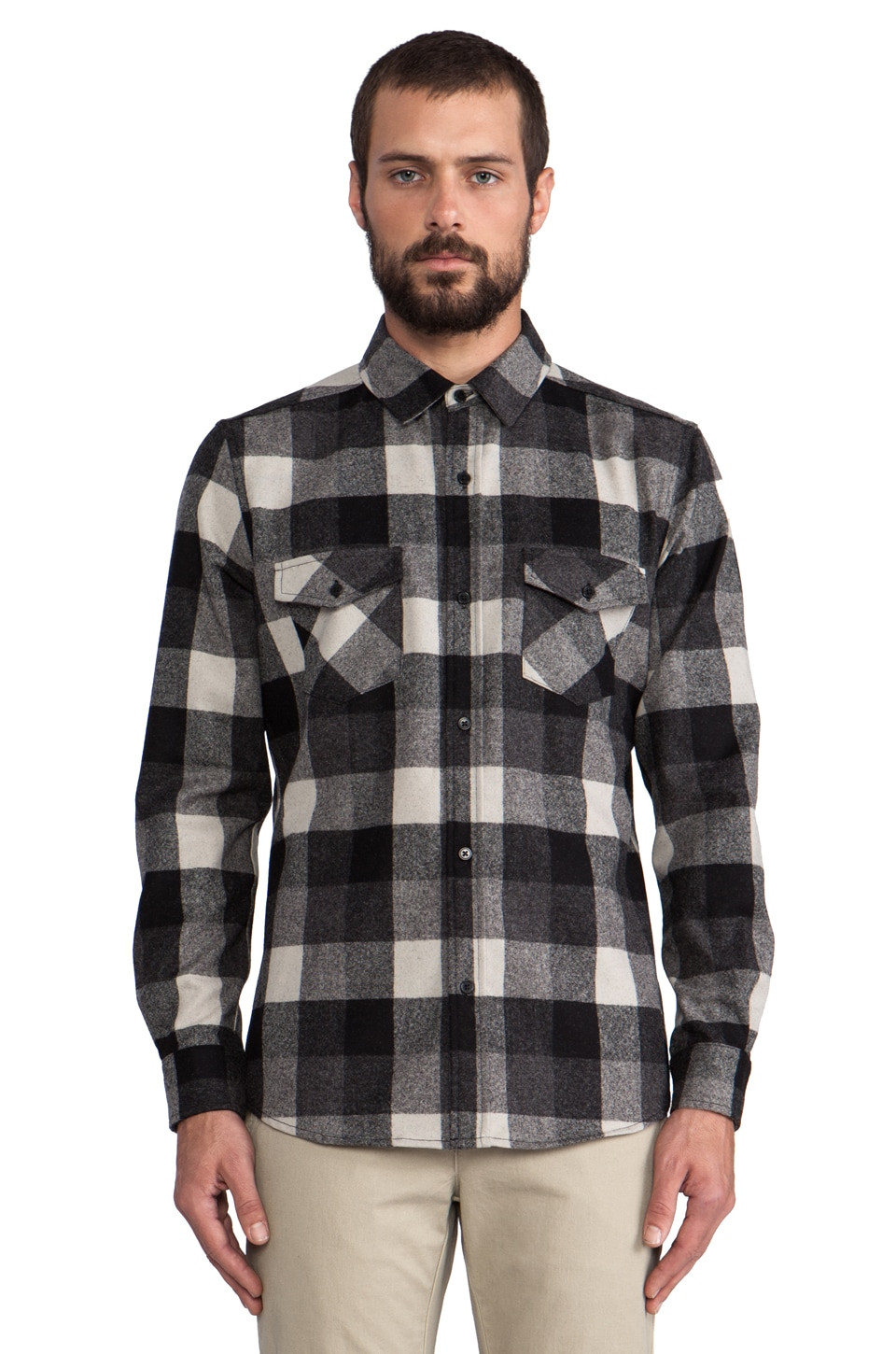 The Portland Collection by Pendleton Government Camp Shirt in Cascadia Plaid