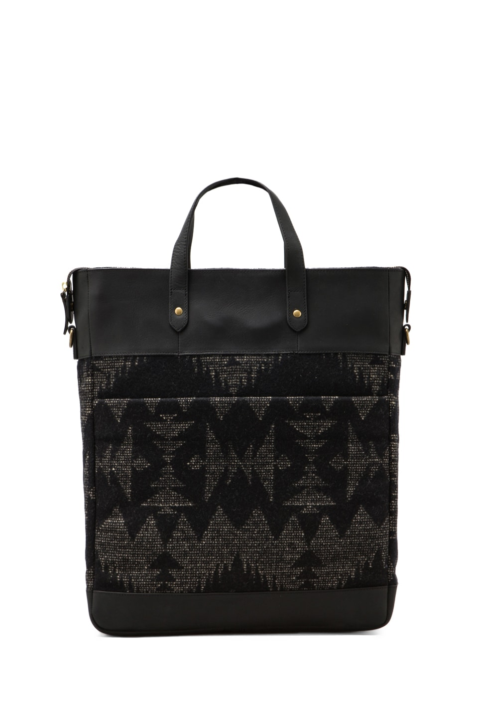 The Portland Collection by Pendleton Monument Laptop Bag in Black Sonora