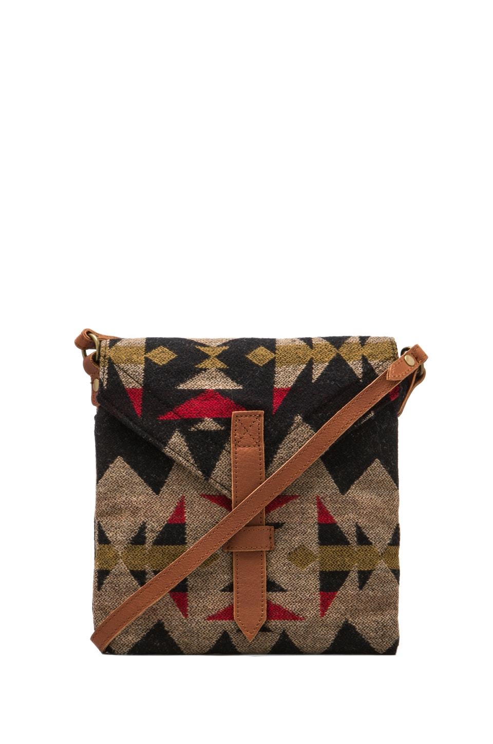 The Portland Collection by Pendleton Saddle Mountain Satchel in Sonora Flannel