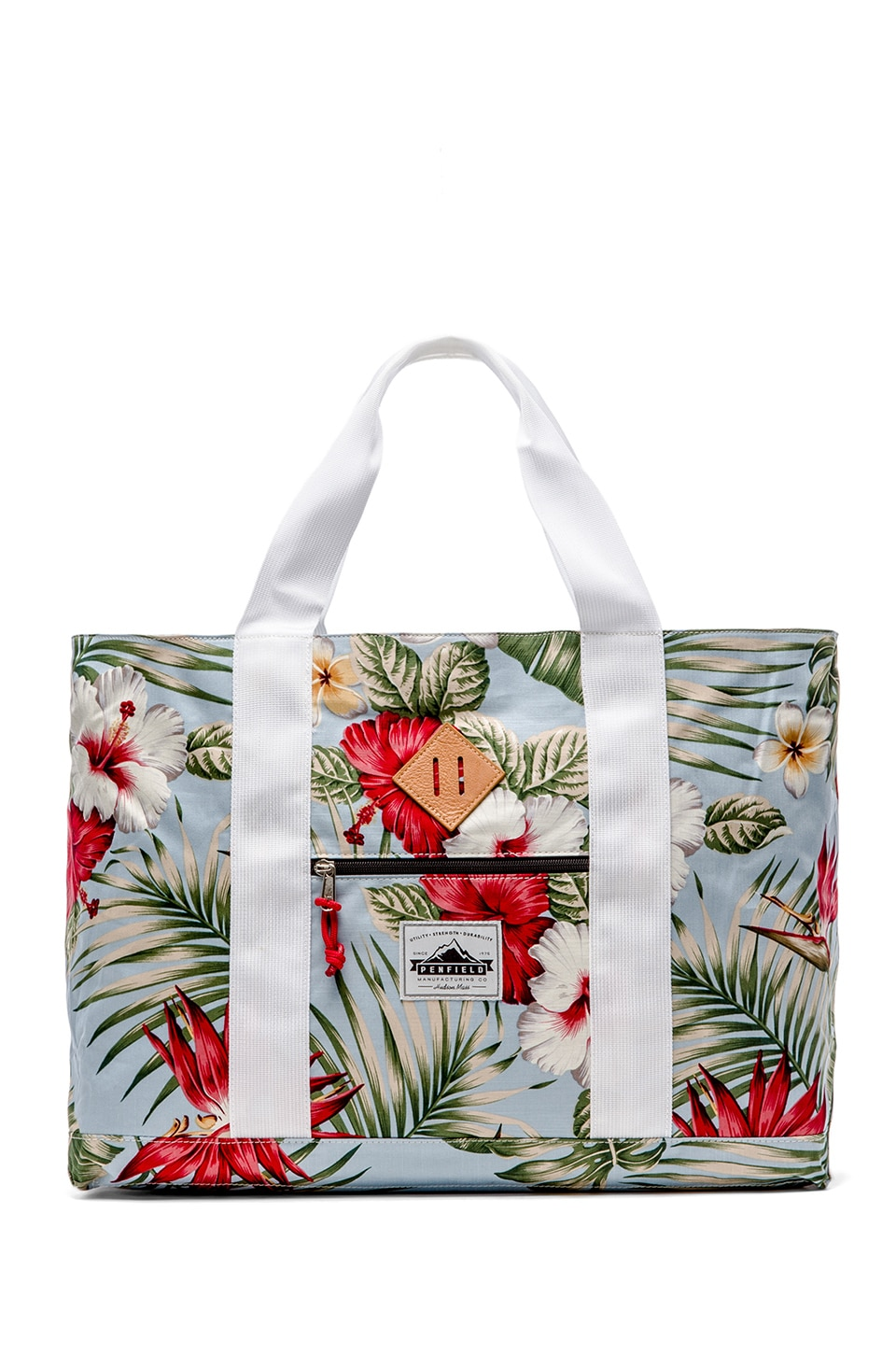 Penfield POLIS Patterned Tote Bag in Palm Print