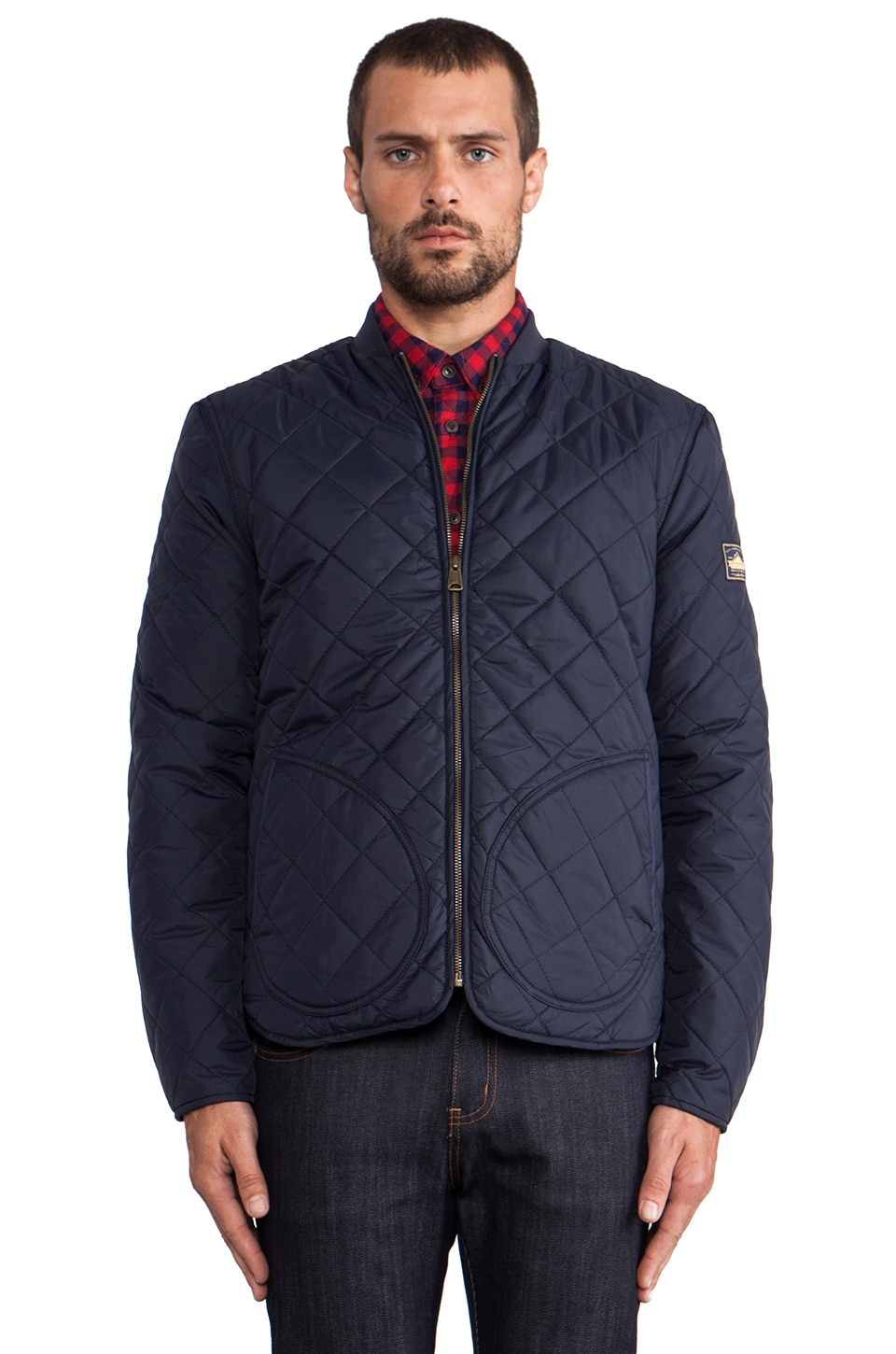 Penfield Landrum Quilted Jacket in Navy