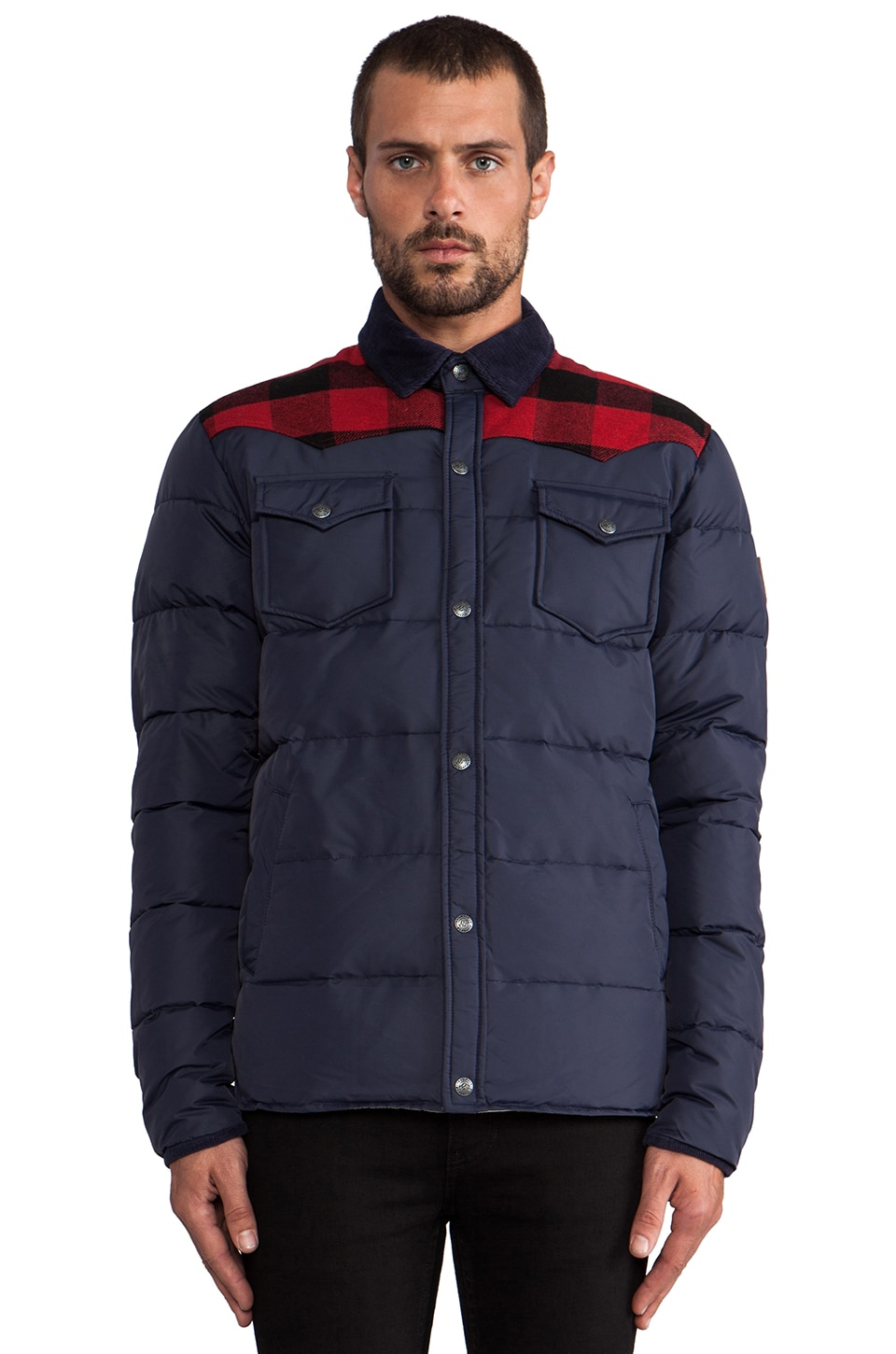 Penfield Rockford Lightweight Insulated Jacket in Navy