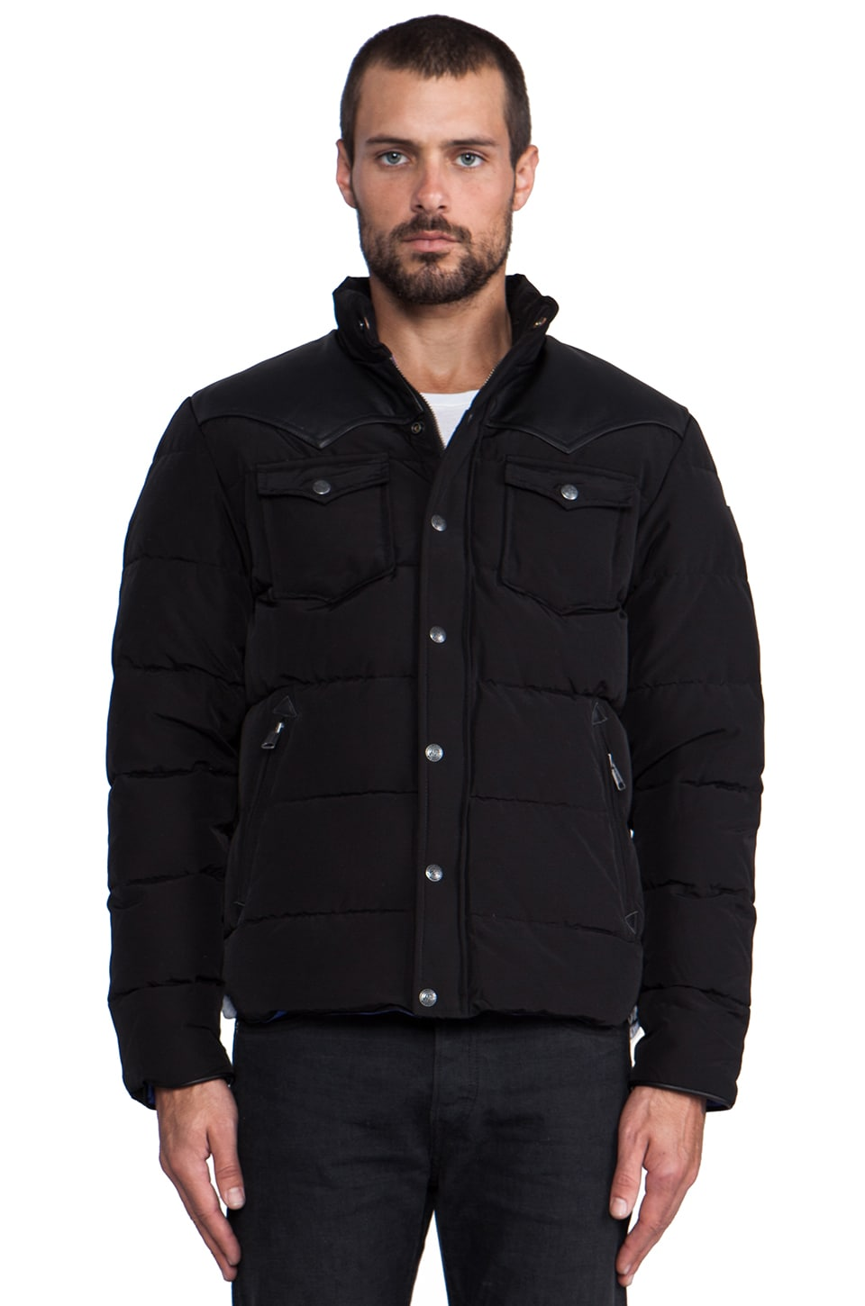 Penfield Stapleton Down Jacket in Black