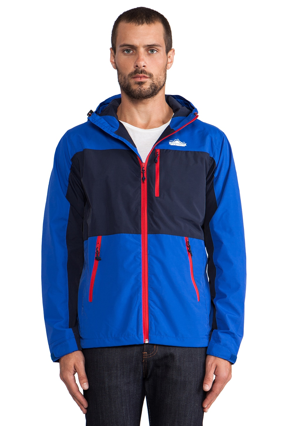 Penfield Chevak Shell Jacket in Cobalt/ Navy