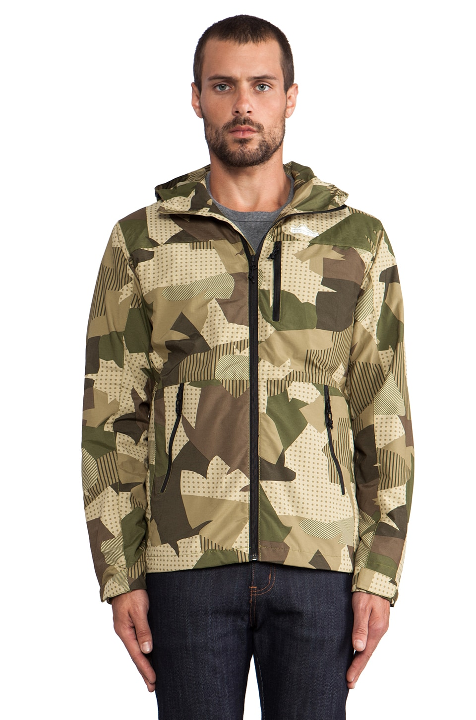 Penfield Chevak Shell Jacket in Camo