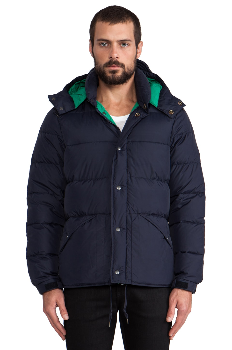 Penfield Bowerbridge Puffer Jacket in Navy