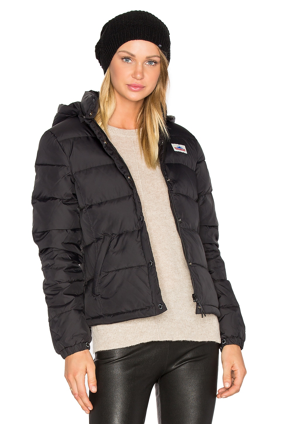 Penfield Millis Down Insulated Jacket in Black | REVOLVE