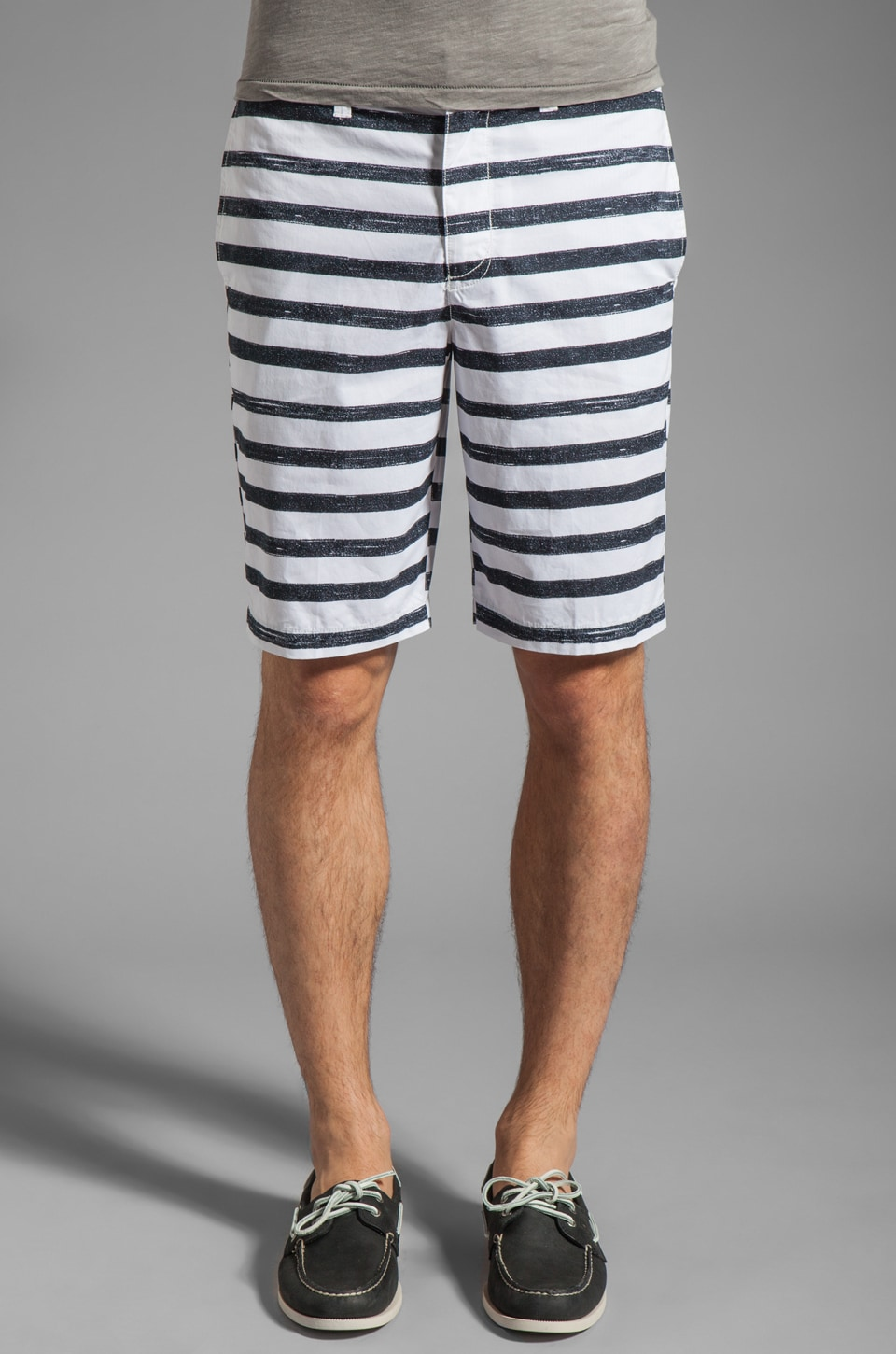 Penguin Sailor Short Margate Fit Short en Bright White