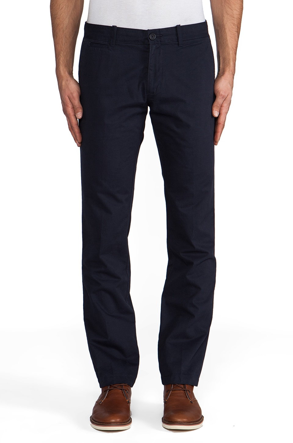 Penguin Straight Fit Chino in Dark Sapphire