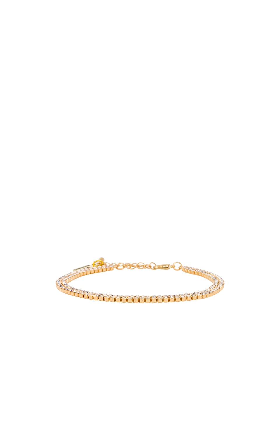 petit moments Emma Anklet in Gold