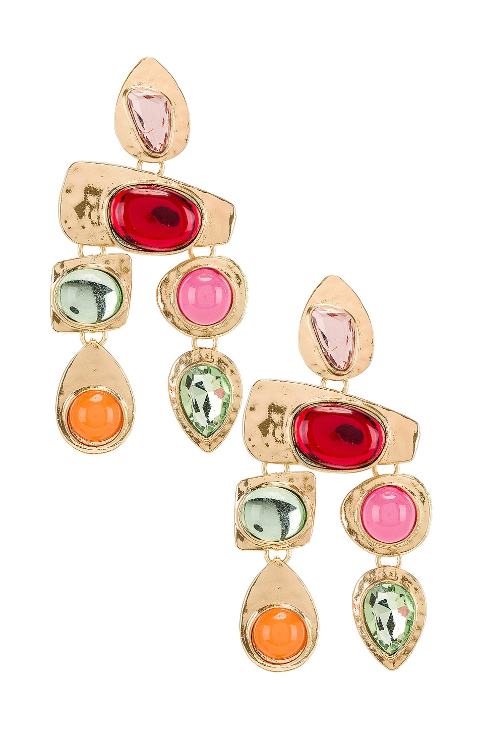 petit moments Stone Earrings in Multi