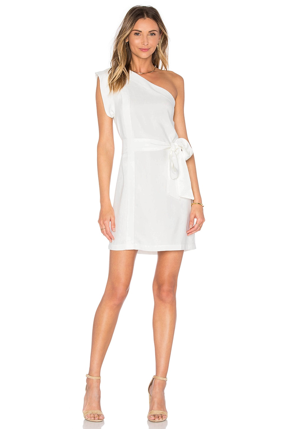 Echo One Shoulder Dress by Pfeiffer